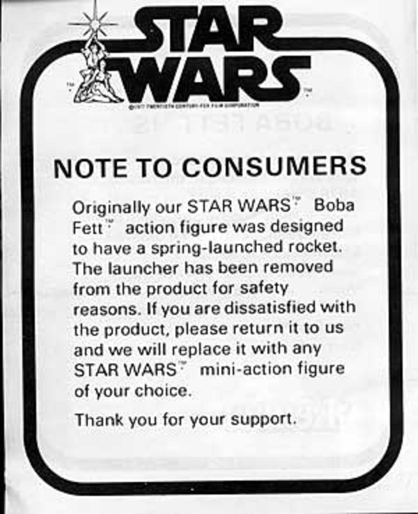 Boba Fett May The 4th Be With You: Kenner's Boba Fett Action Figure Mail Away