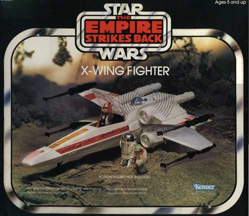 1977 Star Wars X Wing Fighter In Box: Kenner X-Wing Fighter